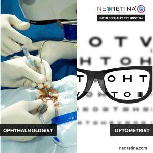 ophthalmologists, optometrists